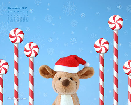 December 2017 Desktop Wallpaper