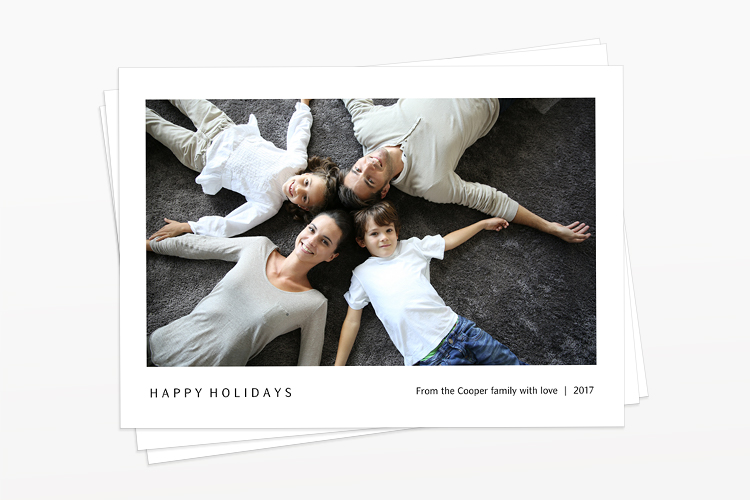 Upper Valley Haven • Custom Holiday Cards