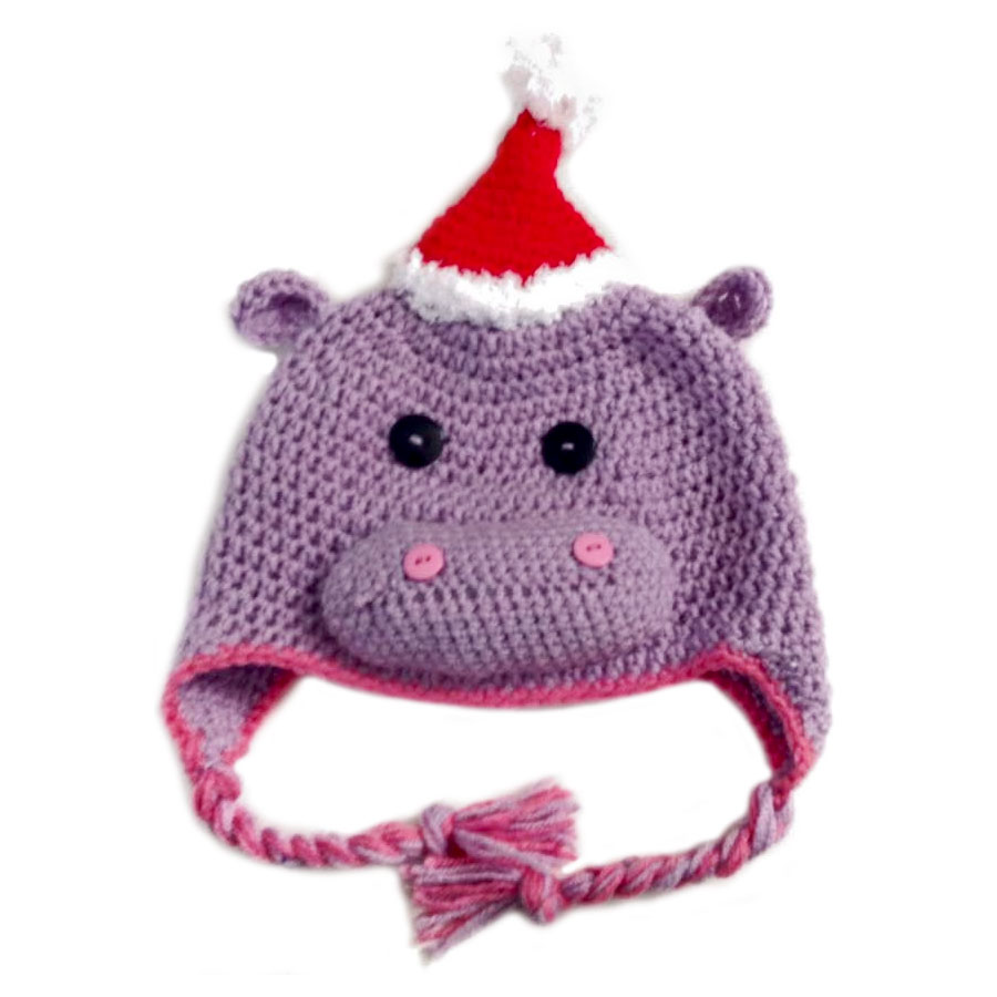 Christmas Hippo Hat