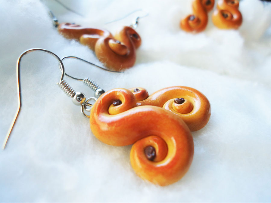 Lussekatter Earrings