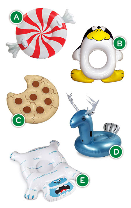 Holiday Pool Floats