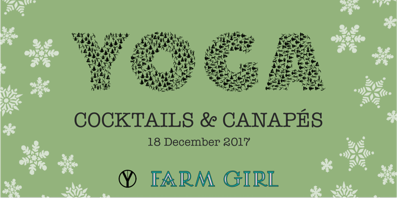 Christmas Yoga, Cocktails & Canapés