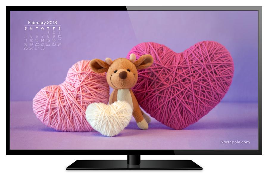 February 2018 Desktop Wallpaper