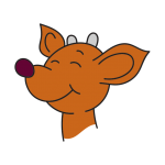 Raymond the Reindeer iMessage Stickers