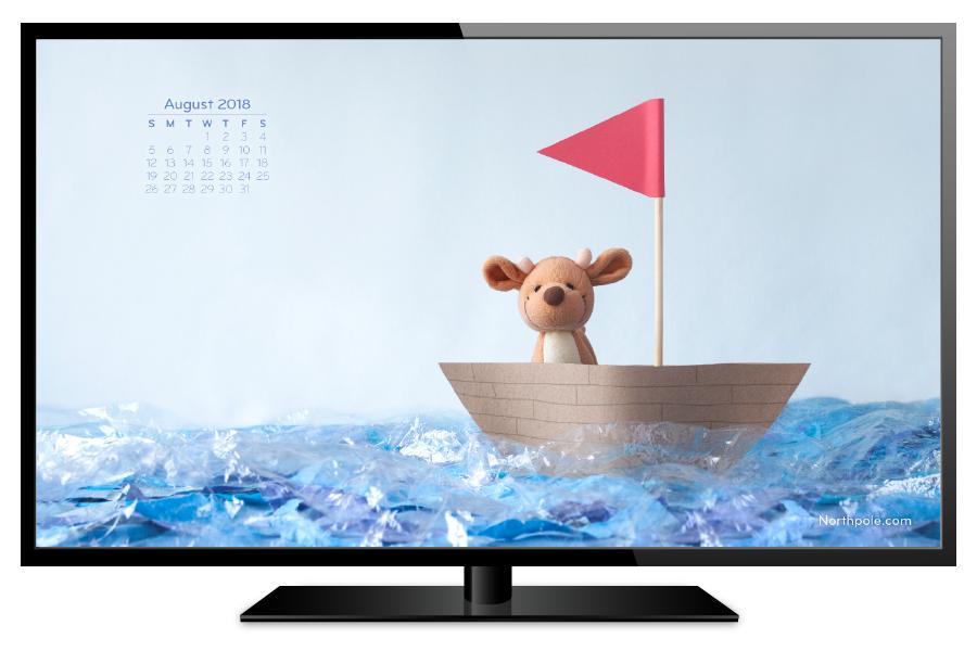 August 2018 Desktop Wallpaper