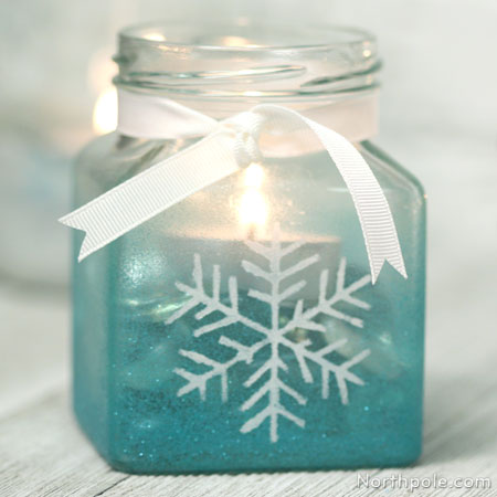Craft Cottage Wintery Candle Holders