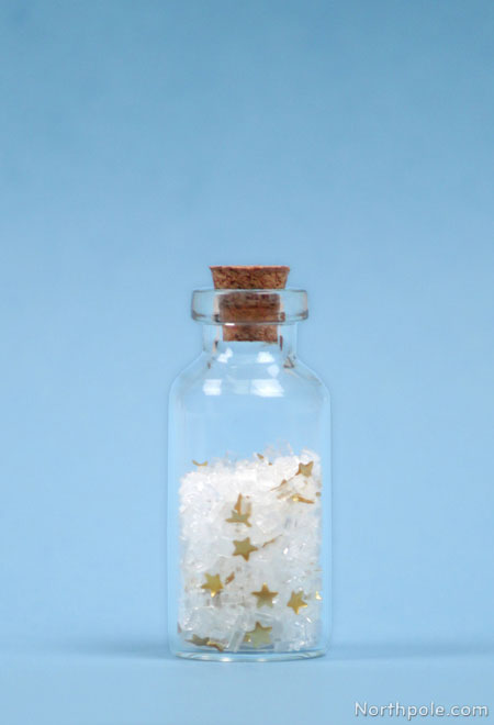 Craft Cottage Tiny Bottles Of Magical Snow From The North Pole