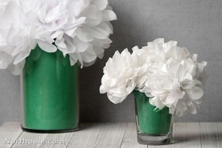 Craft Cottage Fluffy Tissue Paper Flowers