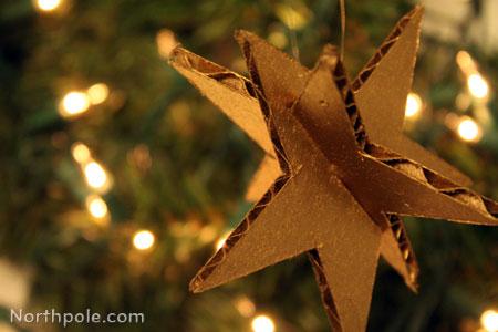 Twinkle Twinkle Cardboard Star