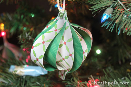 Balloon Shaped Paper Ornament