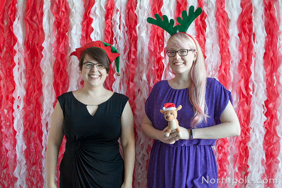 ruffled photo booth backdrop diy ruffled photo booth backdrop for christmas parties