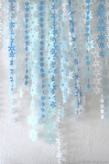 Craft Cottage Tissue Paper Snowflake Garland