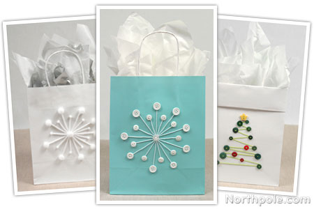 Craft Cottage - DIY Gift Bags: Cute as a Button