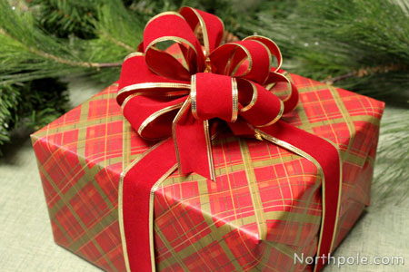 Craft Cottage - How to Wrap Gifts With Wired Ribbon