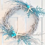 Winter Beach Wreath