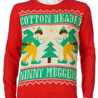 Ugly Christmas Sweater - Cotton-Headed Ninny Muggins