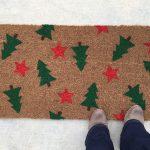 Holiday Tree Doormat