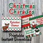 Christmas Charades