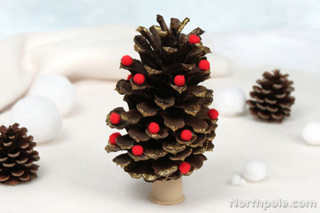 Craft Cottage Pinecone Christmas Tree