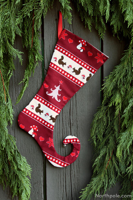 Craft Cottage Elf Shoe Stocking